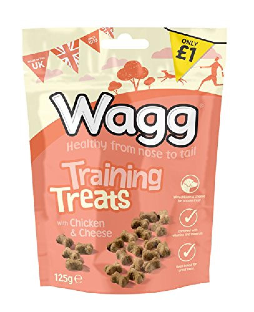 Wagg Training Treats With Chicken and Cheese 125 g