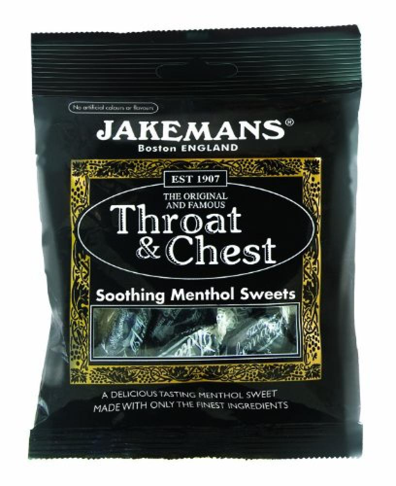 Jakemans Throat and Chest Bags 100g
