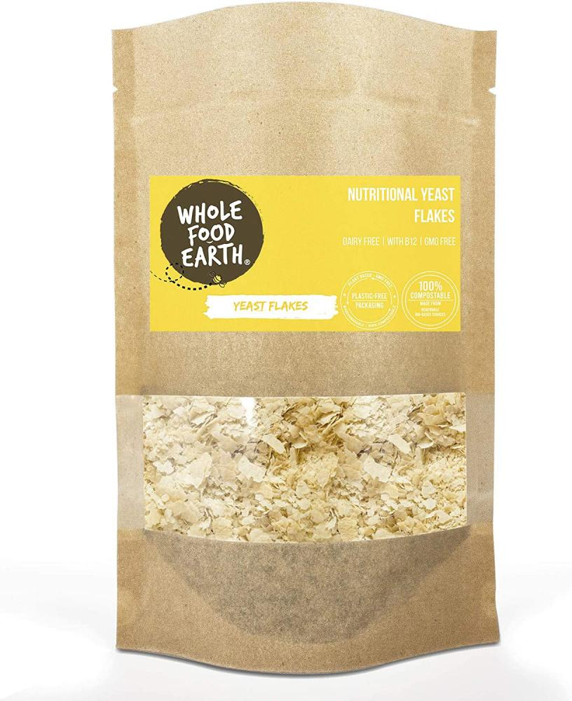 SALE  Whole Food Earth Nutritional Yeast Flakes 125g Damaged