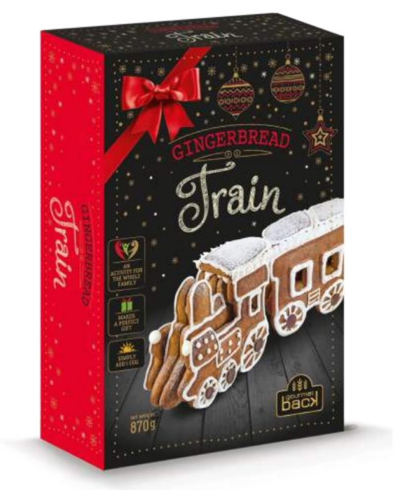 Delicia Gingerbread Train Decorating Kit 830g