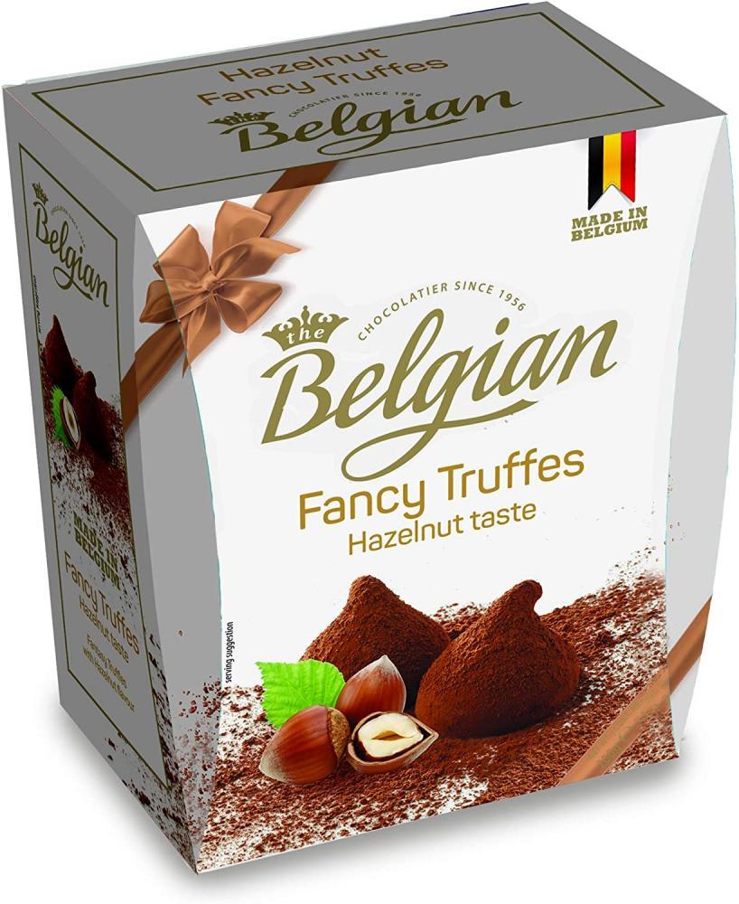 Belgian Fancy Hazelnut Truffles 200g