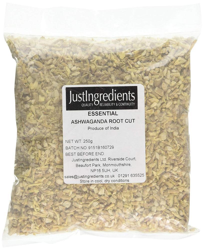 JustIngredients Essentials Ashwagandha Root Cut 250g