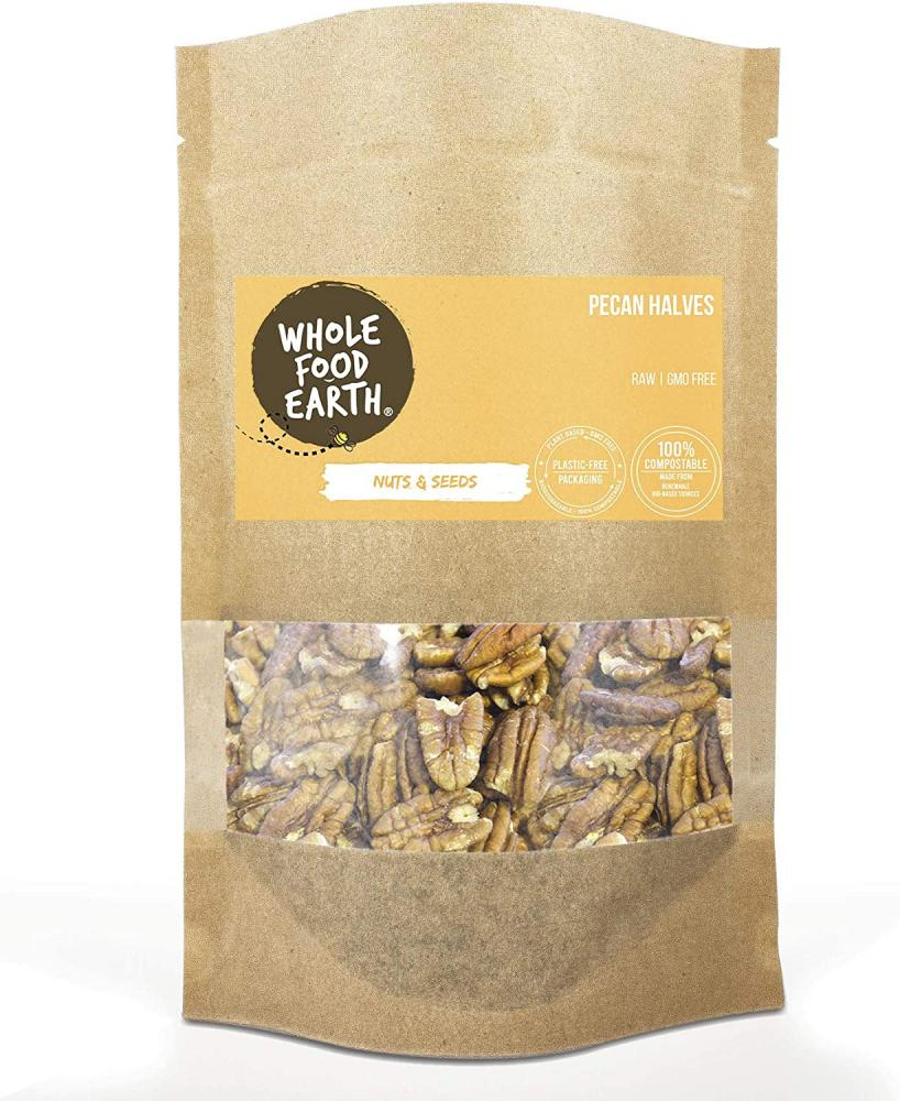 Whole Food Earth Pecan Halves 100 g
