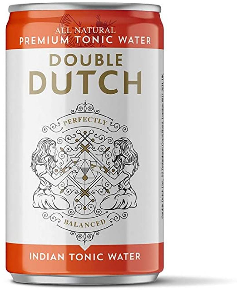 Double Dutch Indian Tonic Water Can 150ml