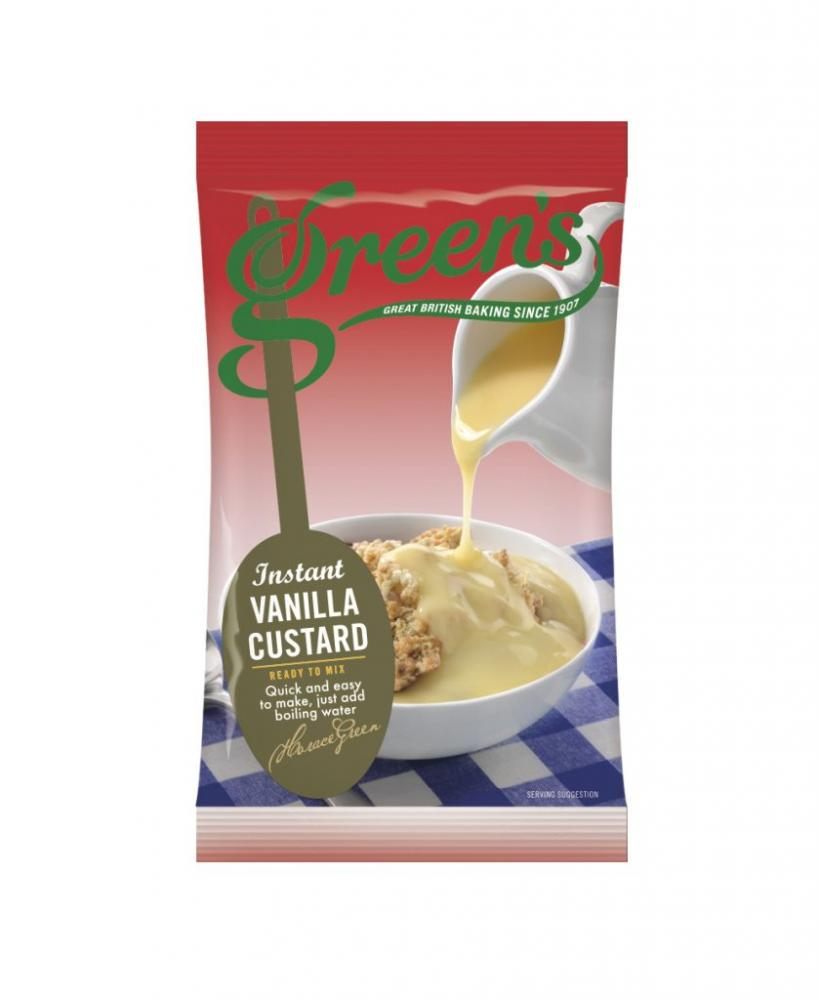Greens Vanilla Instant Custard Mix 72g