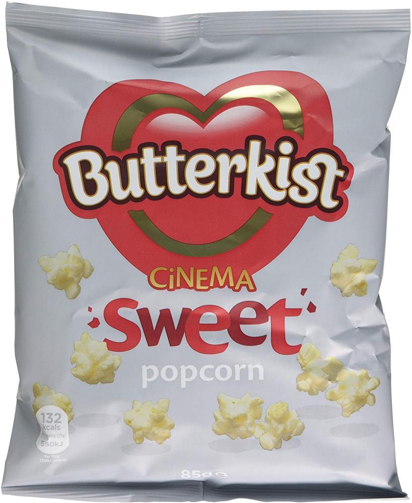 Butterkist Cinema Sweet Popcorn 85 g