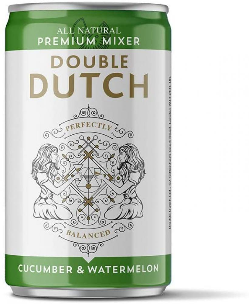 Double Dutch Ltd Cucumber and Watermelon Flavoured Tonic Water 150ml