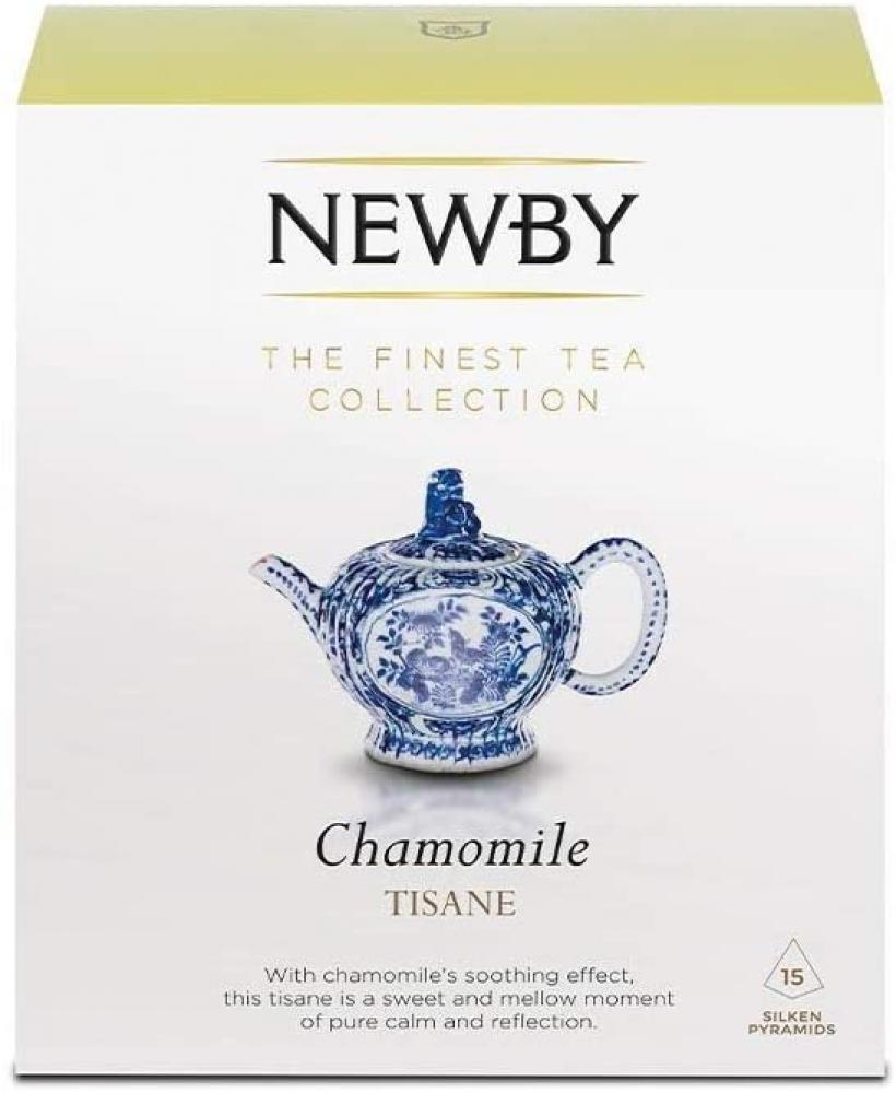Newby Teas Chamomile Tea 15 Silken Pyramids