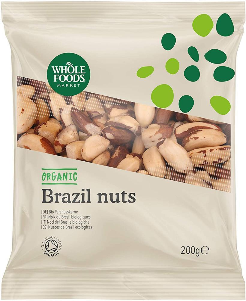 Whole Foods Market Organic Brazil Nuts 200 g