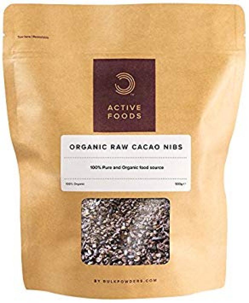 Bulk Powders Organic Raw Cacao Nibs 250g