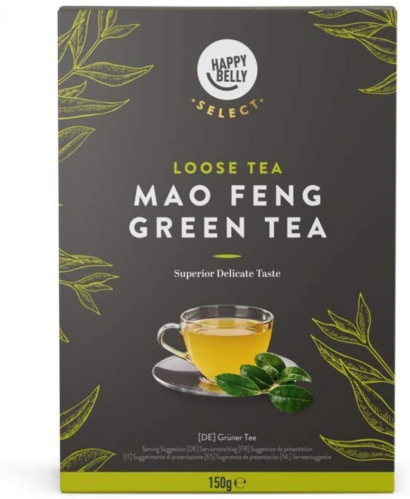Happy Belly Green Tea Leaves Mao Feng 150g