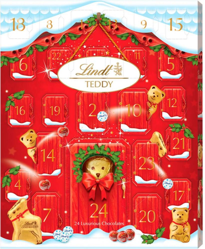 Lindt Adorable Bear and Friends Advent Calendar 250g