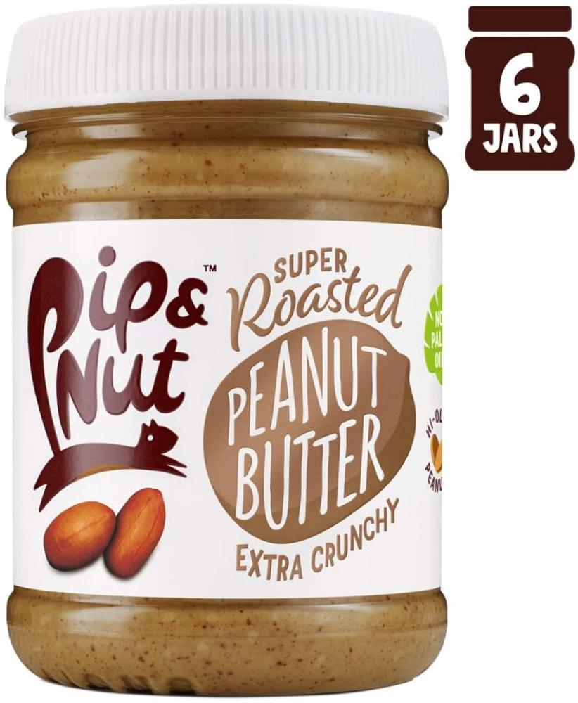Pip and Nut Super Roasted Extra Crunchy Peanut Butter 225 g