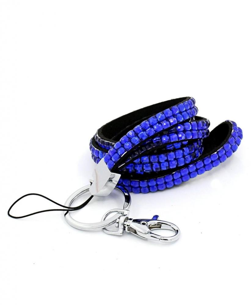 Unbranded Blue Diamond Lanyard