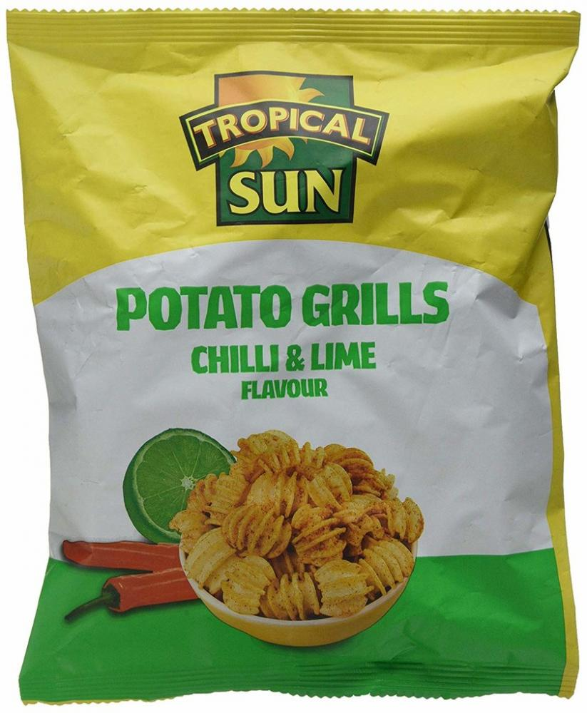 Tropical Sun Potato Grills Chilli and Lime Flavour 80g