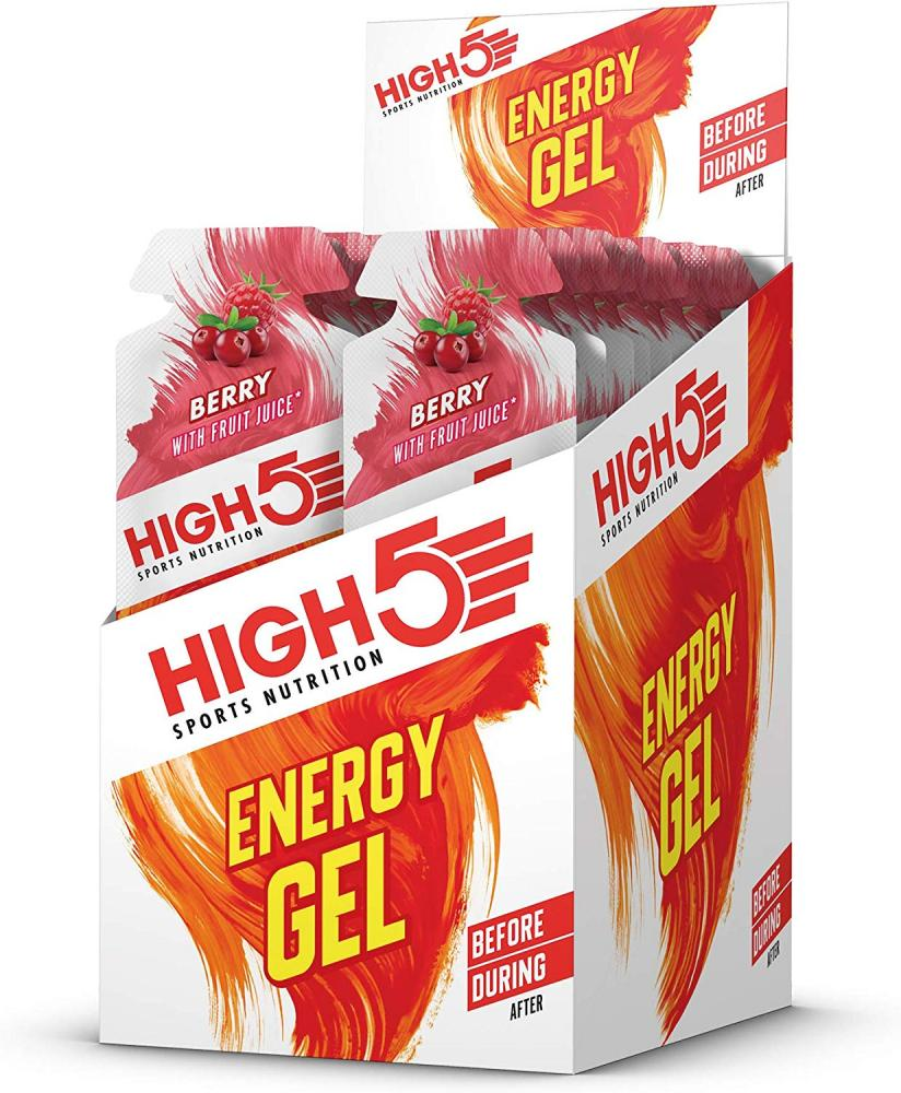 High 5 Sports Nutrition Energy Gel Berry With Fruit Juice 40 g