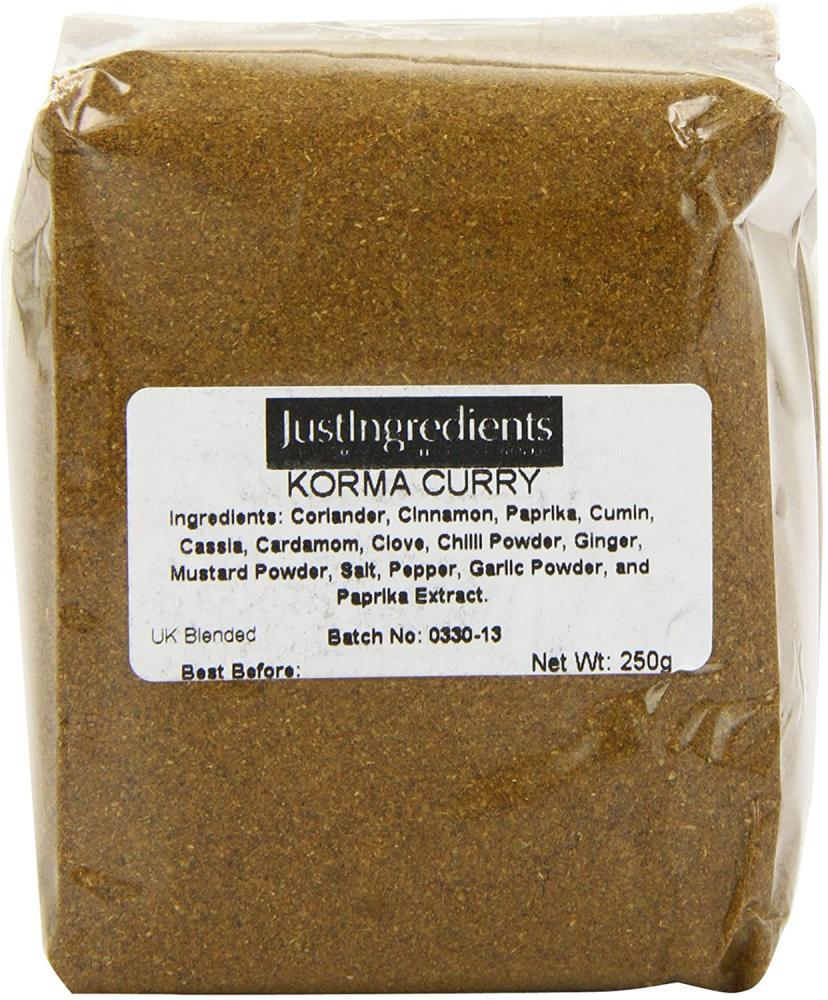 JustIngredients Essentials Korma Curry Powder 250g