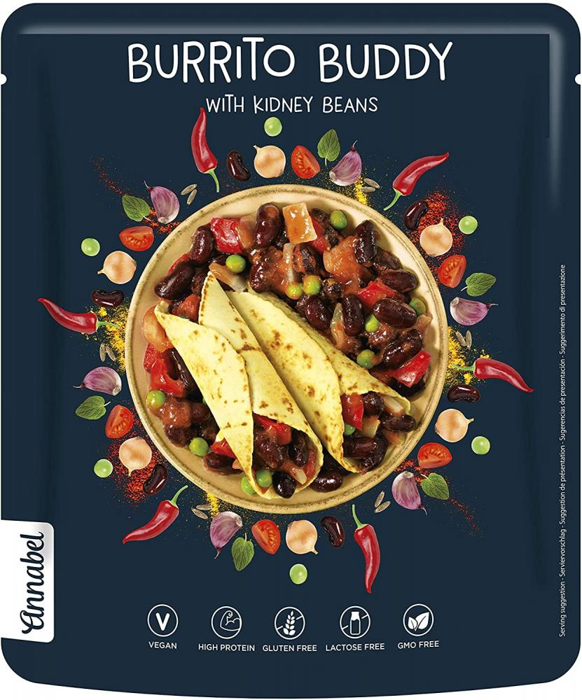 Annabel Burrito Buddy 100 Natural Mexican Flavoured 500g