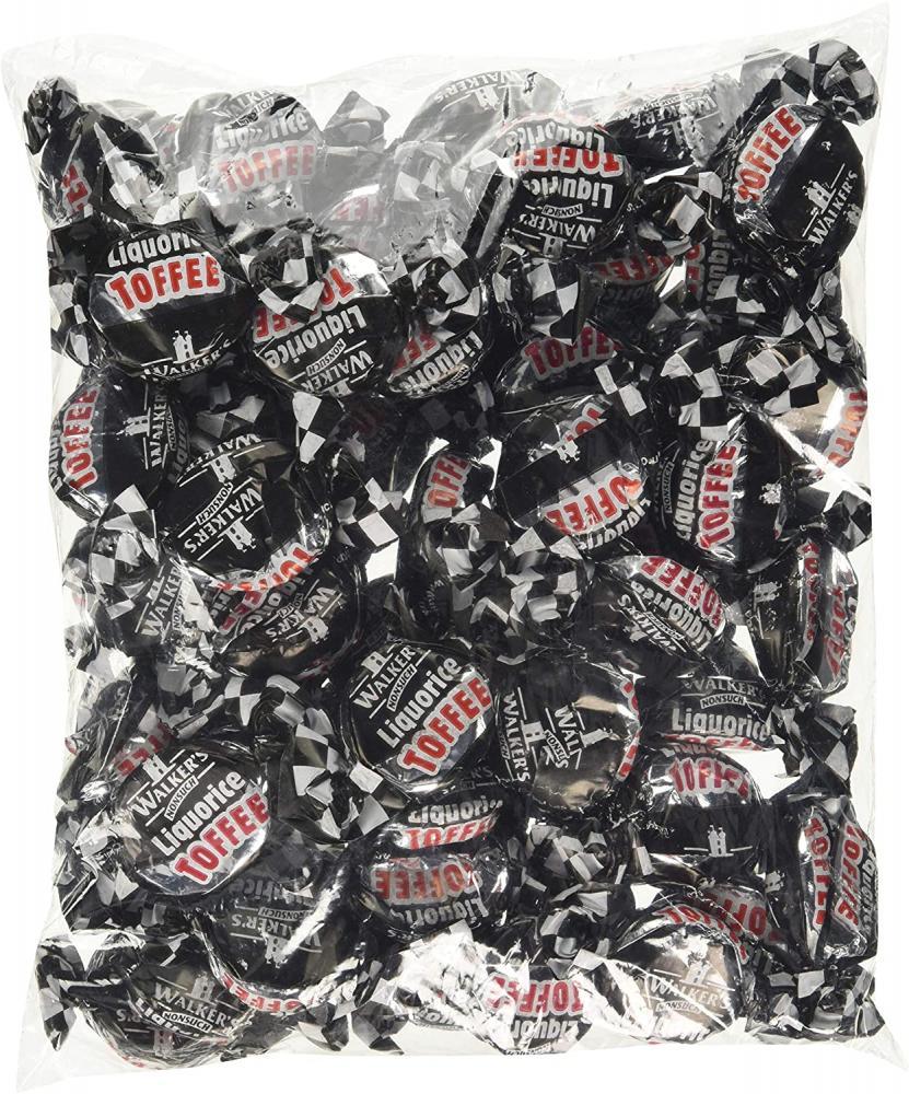 Tingo Walkers Liquorice Toffee Packet 500 g