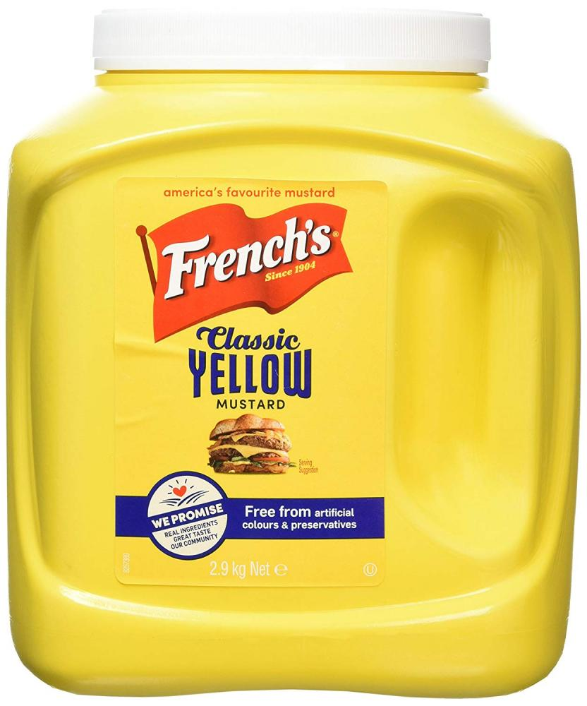 Frenchs Classic Yellow Mustard 2.9kg