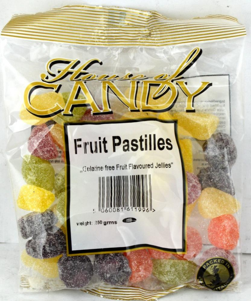 House Of Candy Fruit Pastilles 250g