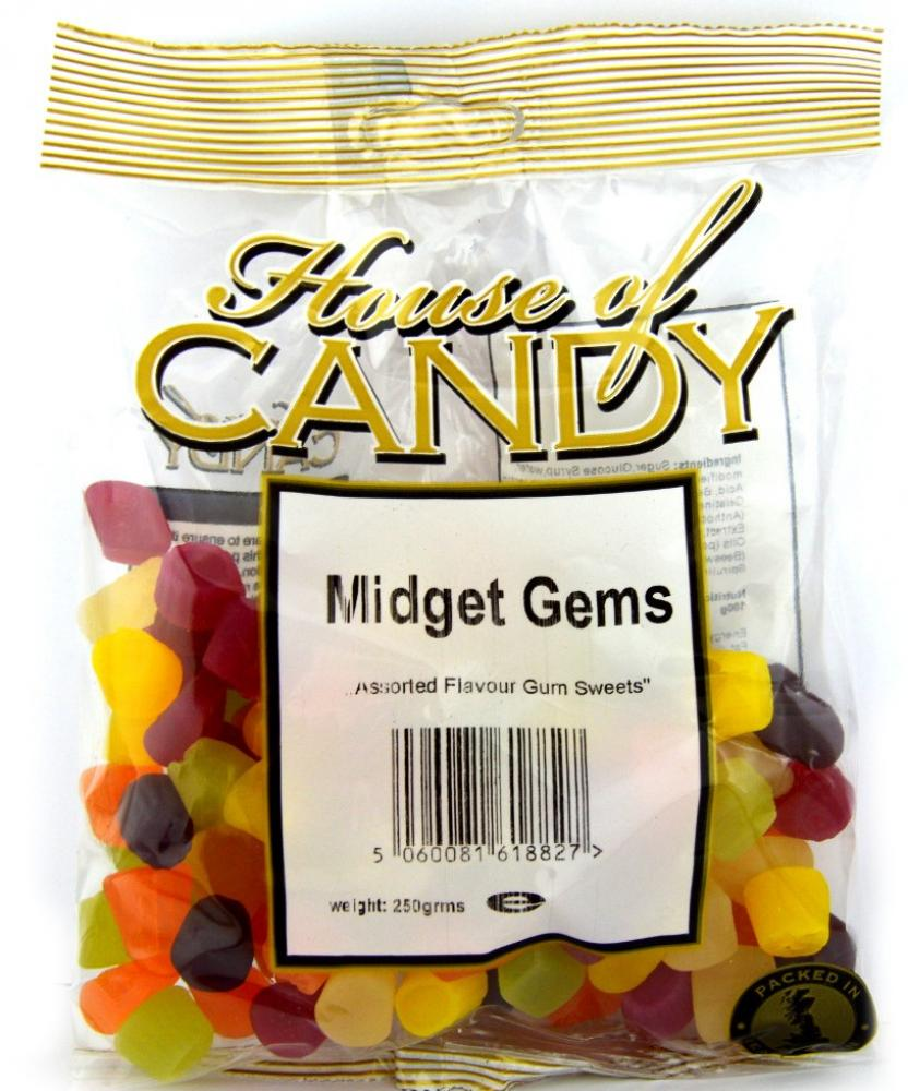 House Of Candy Midget Gems 225g