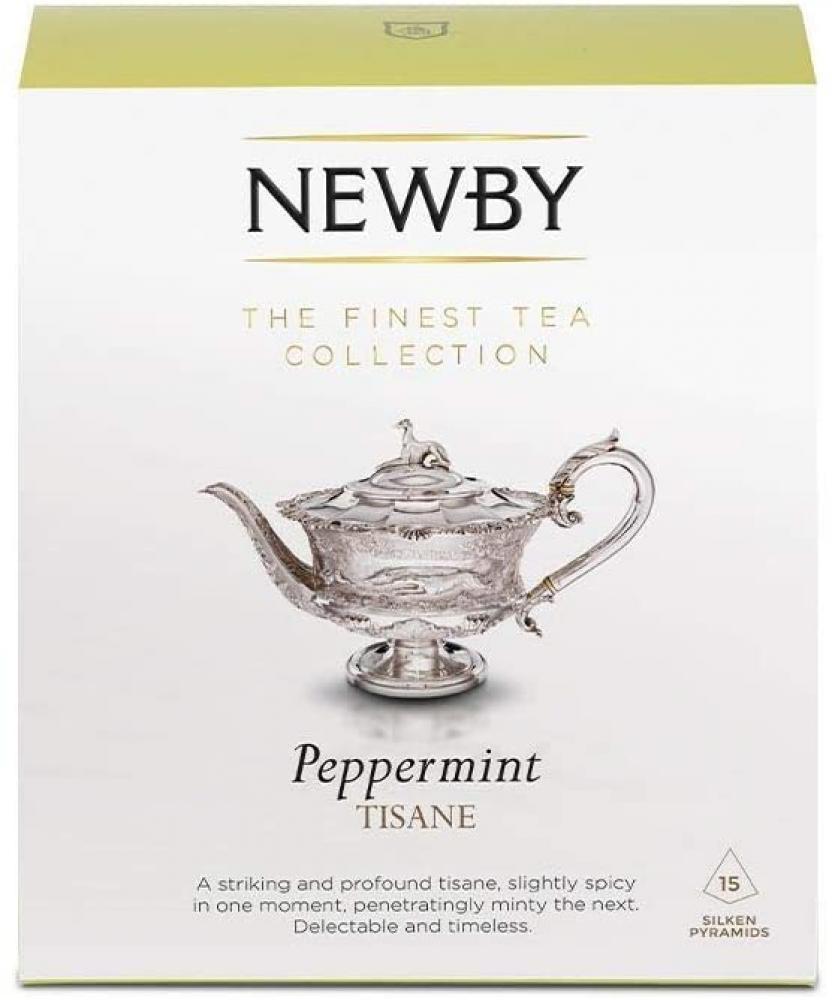Newby Teas Peppermint Silken Pyramids 30g