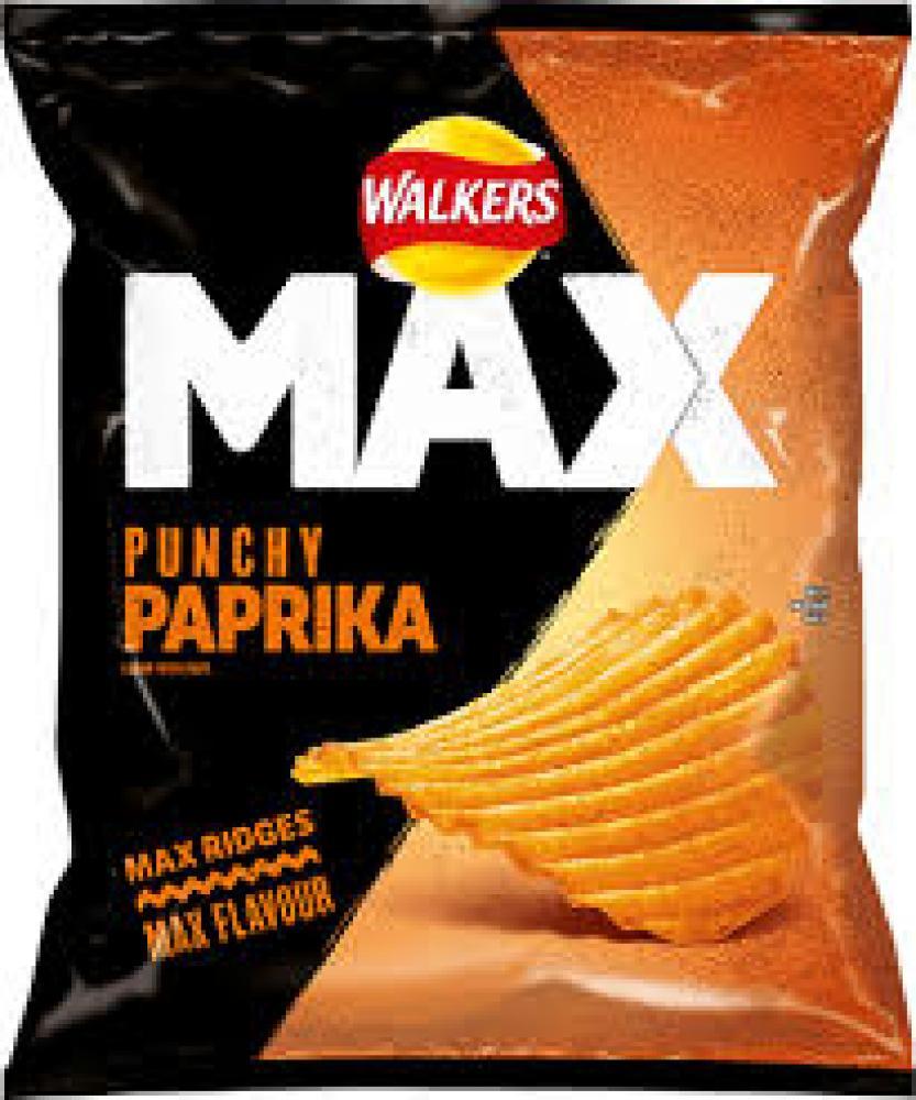 Walkers Max Punchy Paprika 42.5g
