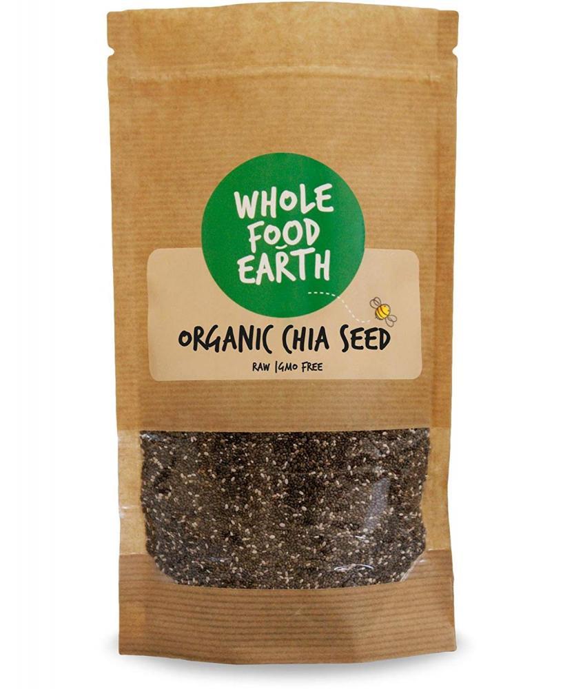 Whole Food Earth Organic Chia Seeds 1 kg