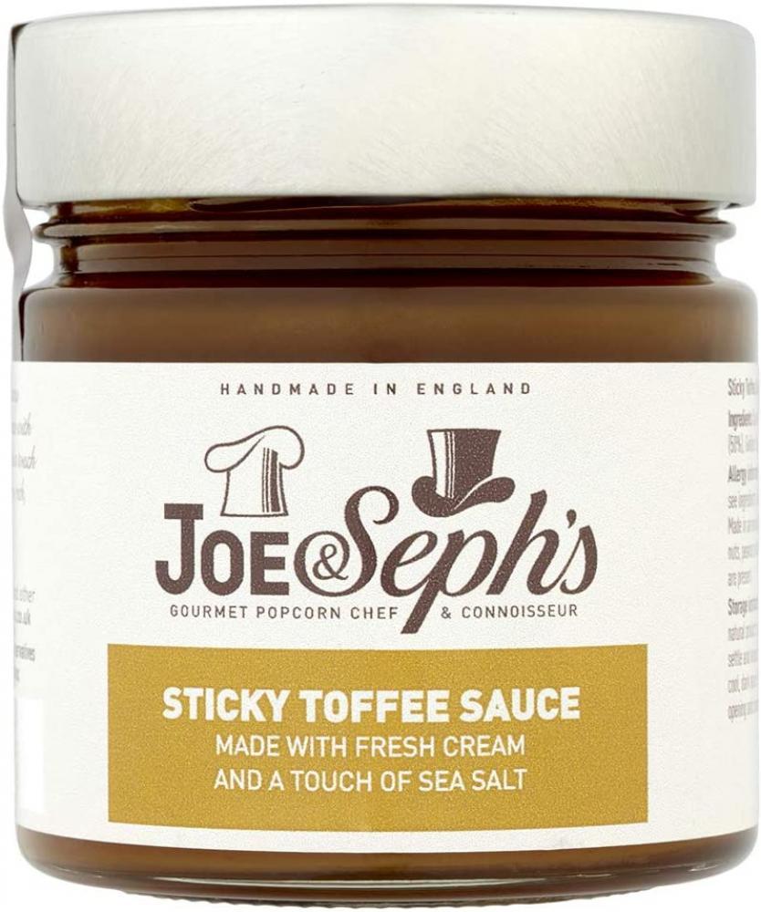 Joe and Sephs Sticky Toffee Caramel Sauce 230g