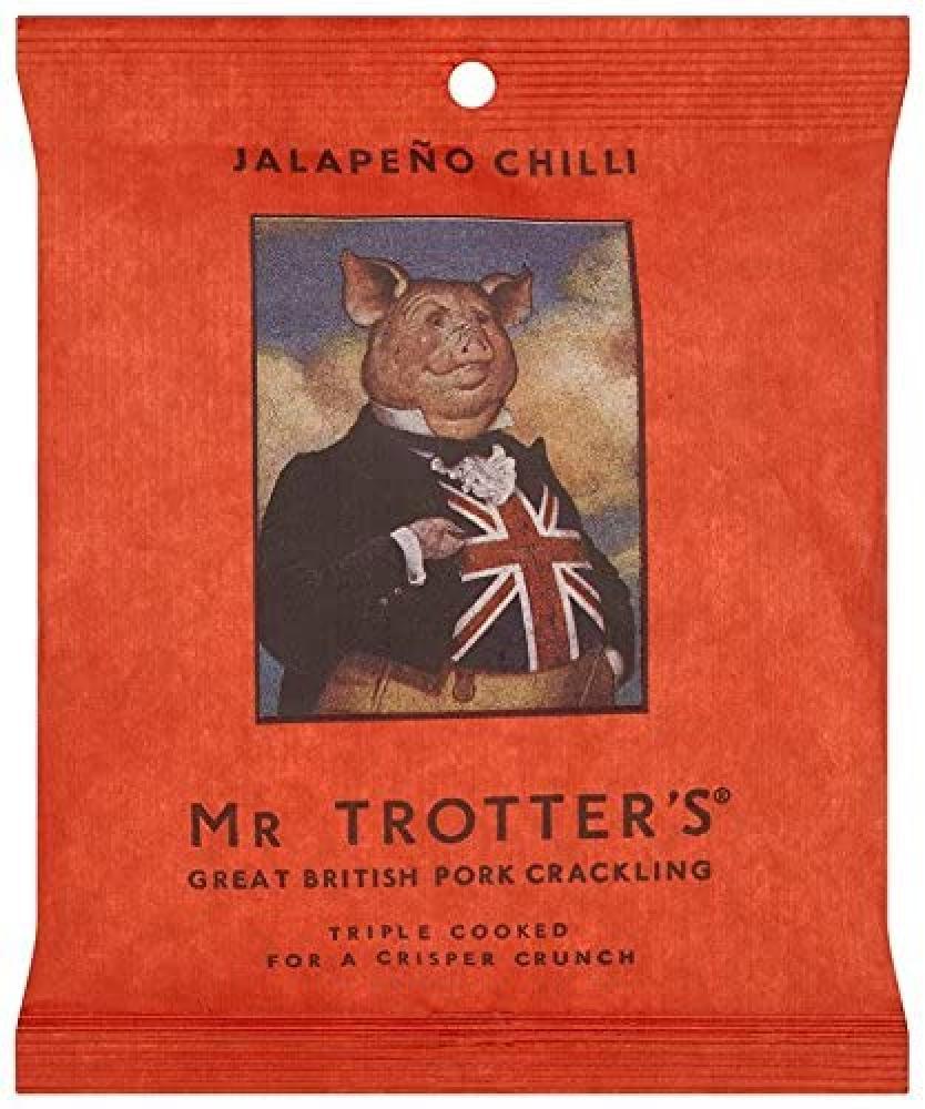 Mr Trotters Jalapeno Chilli Pork Crackling 60g