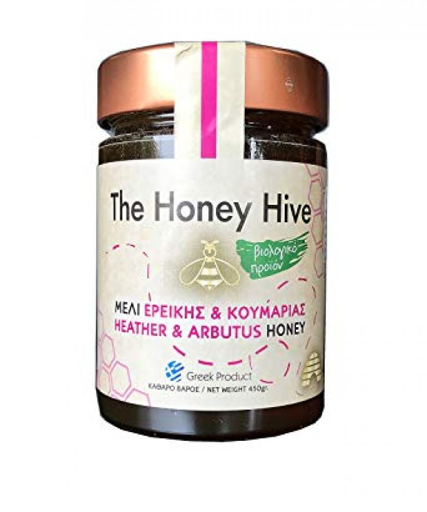 The Honey Hive Heather and Arbutus Greek Organic Raw Honey 300g