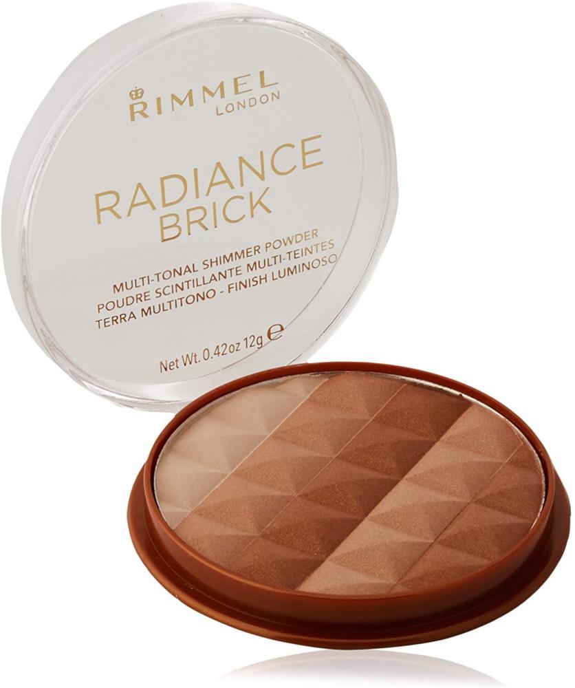 Rimmel London Radiance Brick BronzerLight 12g