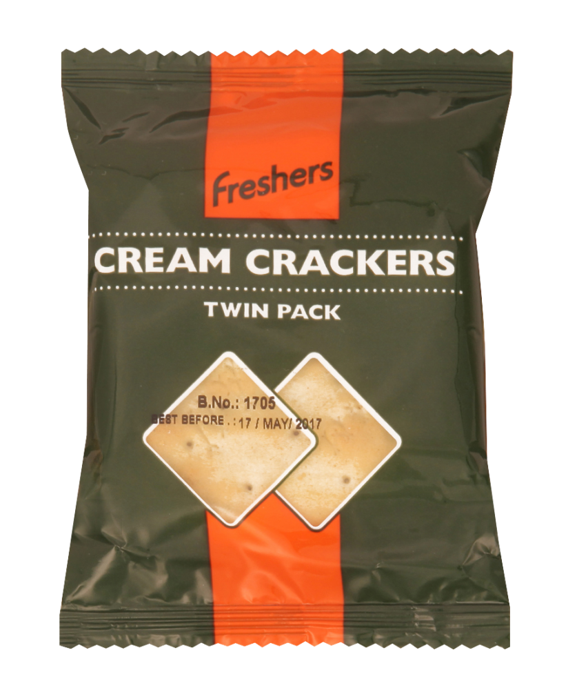 Freshers Cream Crackers Twin Pack