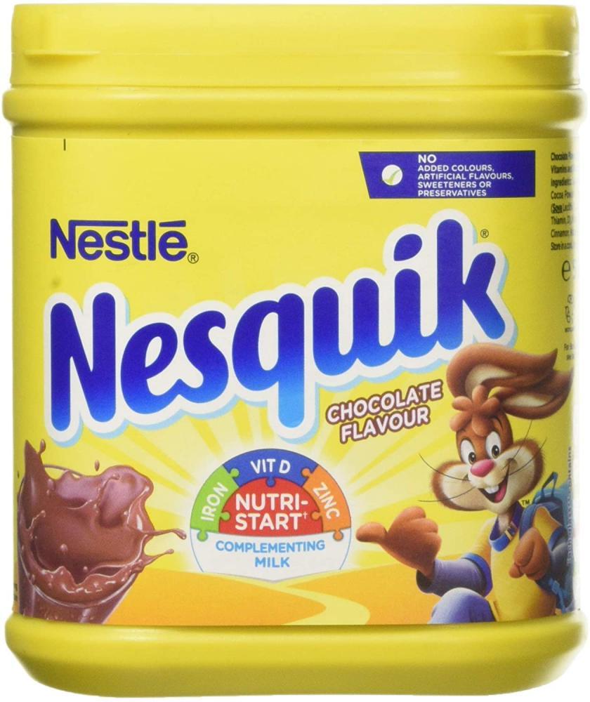 NESQUIK Chocolate Flavour Milkshake Powder 500g
