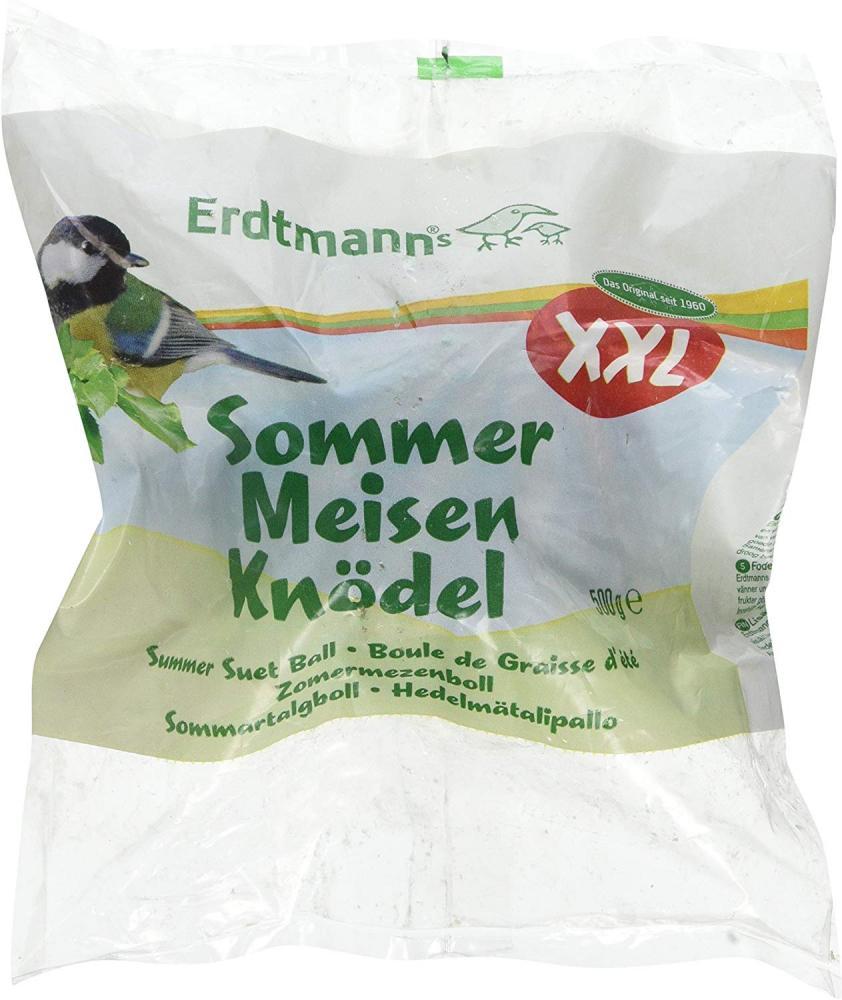 Erdtmanns Summer Suet Ball Packed in A Green Net XXL 500g