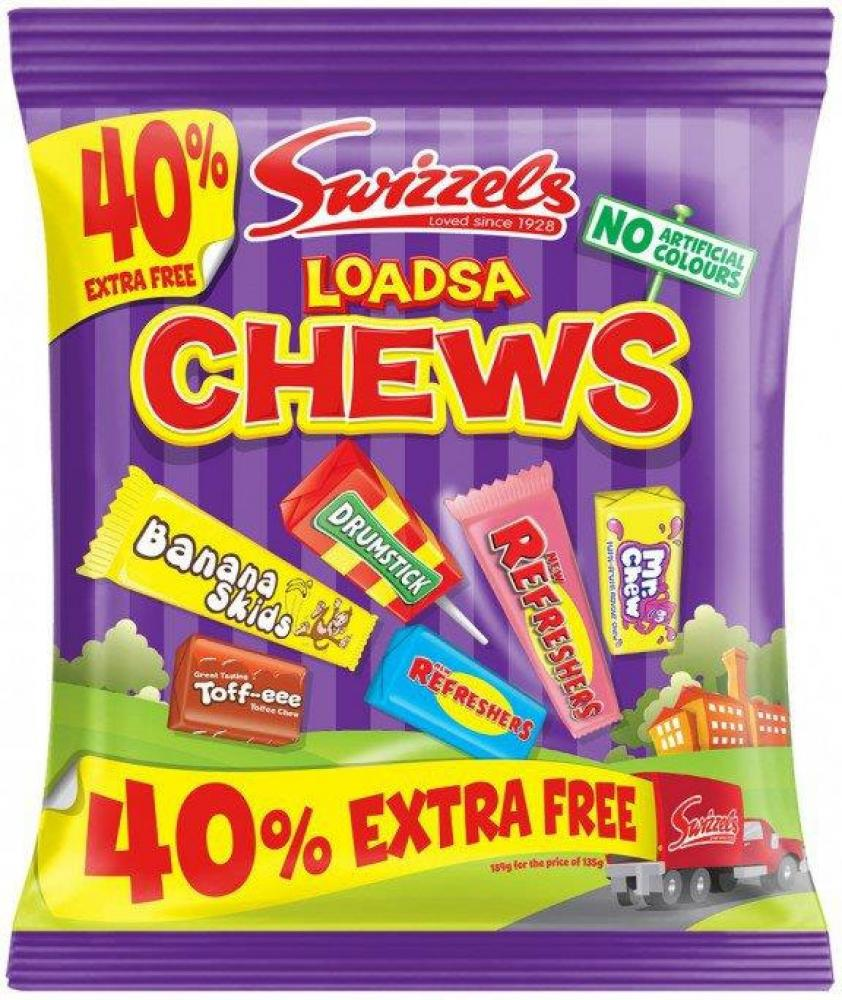 Swizzels Loadsa Chews 135g