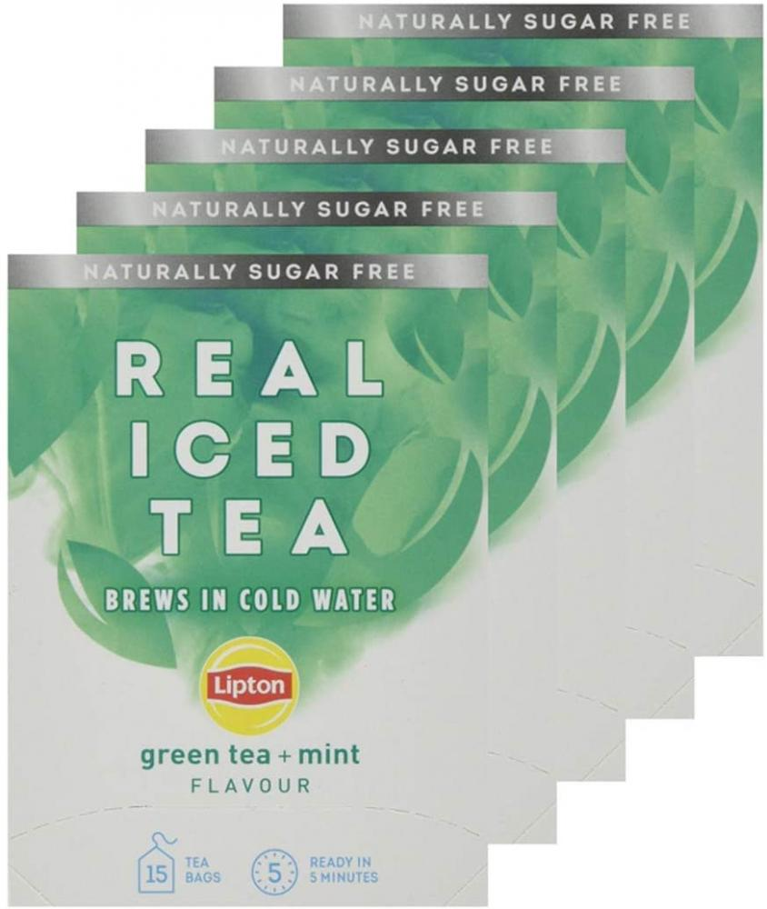 SALE  Lipton Real Mint and Green Flavour 15 teabags