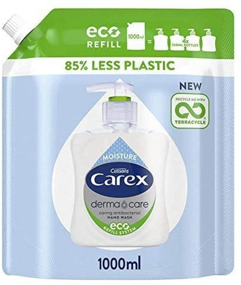Carex Dermacare Moisture Antibacterial Hand Wash Refill 1000 ml