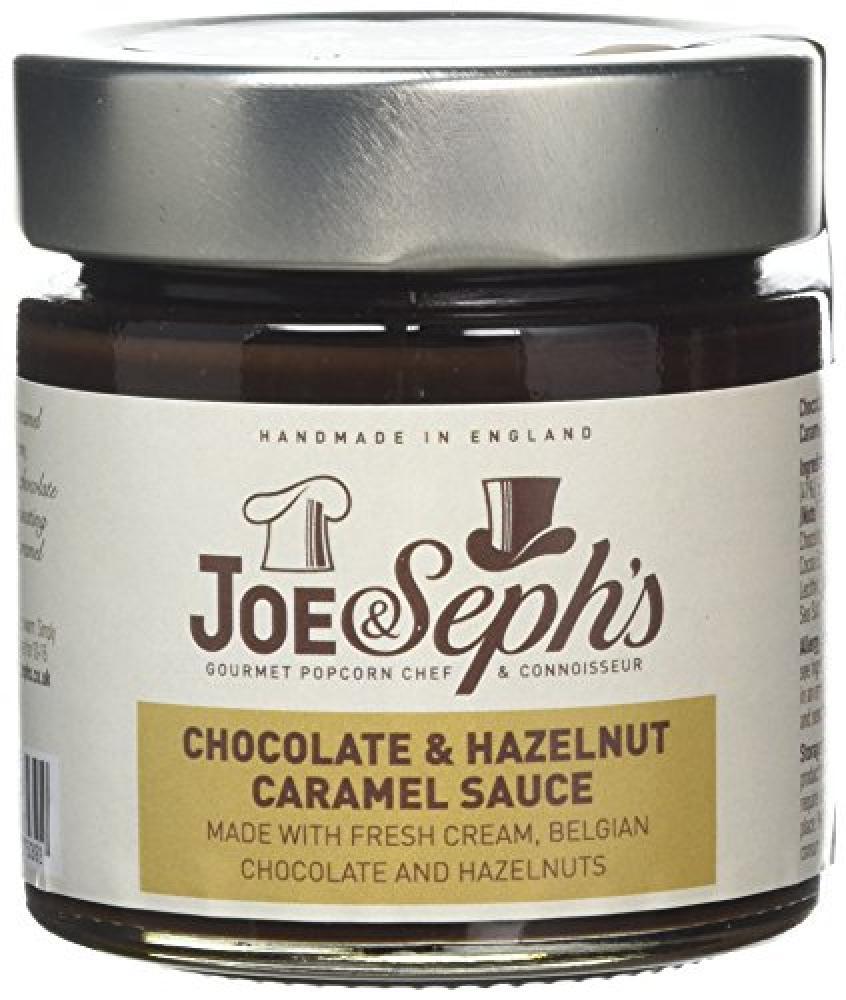 Joe and Sephs Chocolate and Hazelnut Sauce 230g