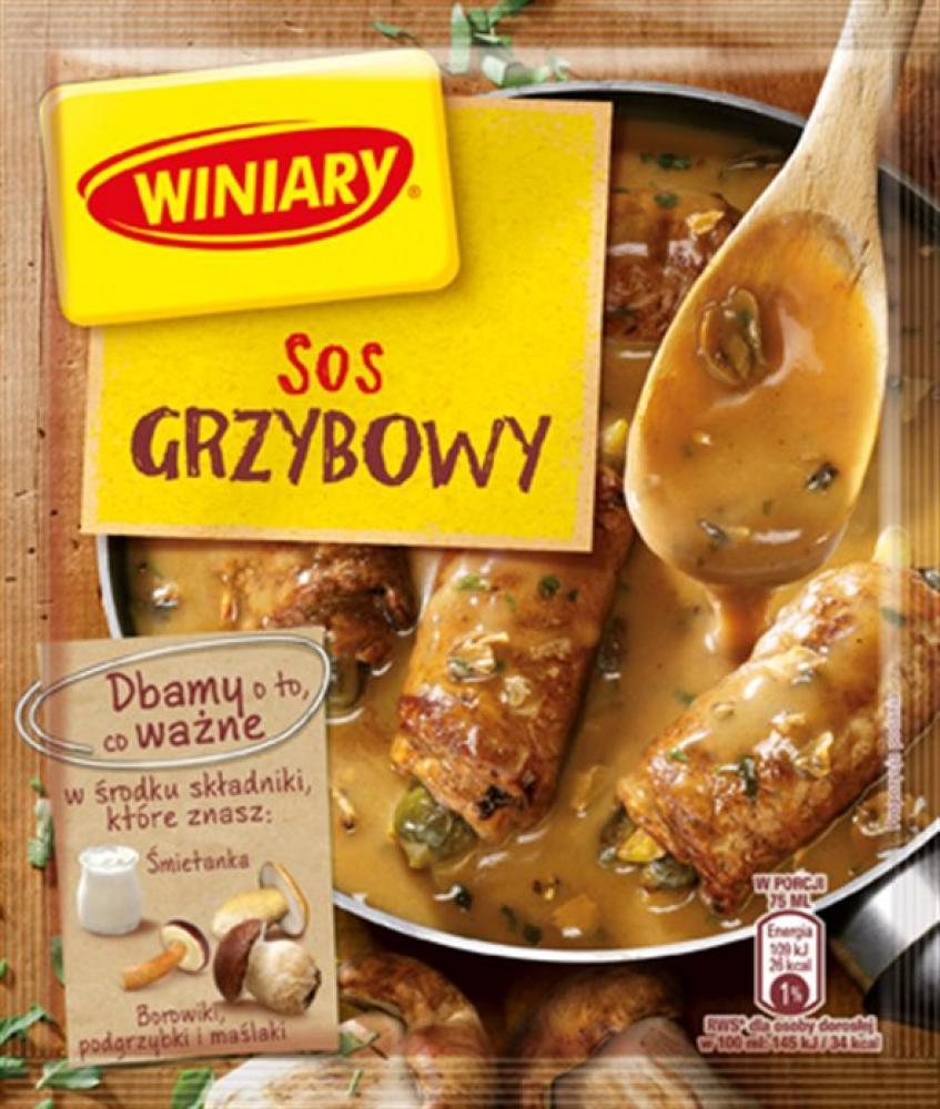 Winiary Mushroom Sauce Mix 28g