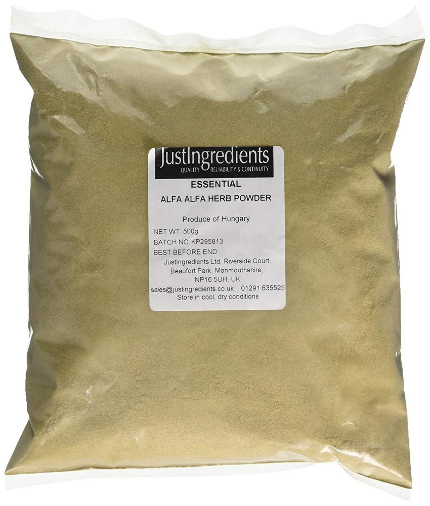 JustIngredients Essentials Alfalfa Herb Powder 500 g