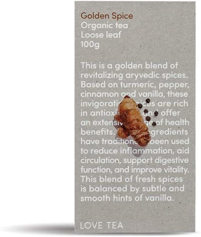 Love Tea Golden Spice Loose Leaf Tea 100g