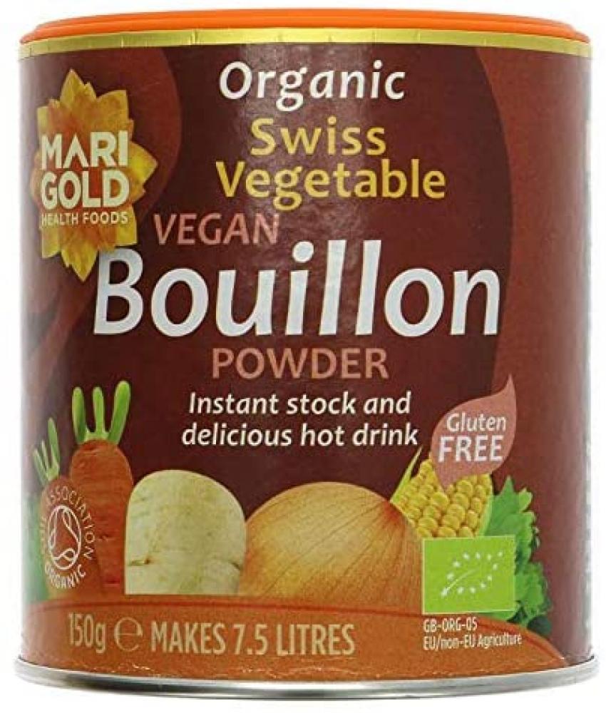 Marigold Bouillon Powder - Organic 150 g