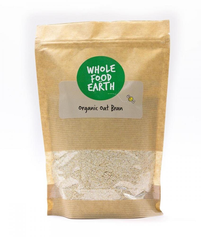 Whole Food Earth Organic Oatbran 250g