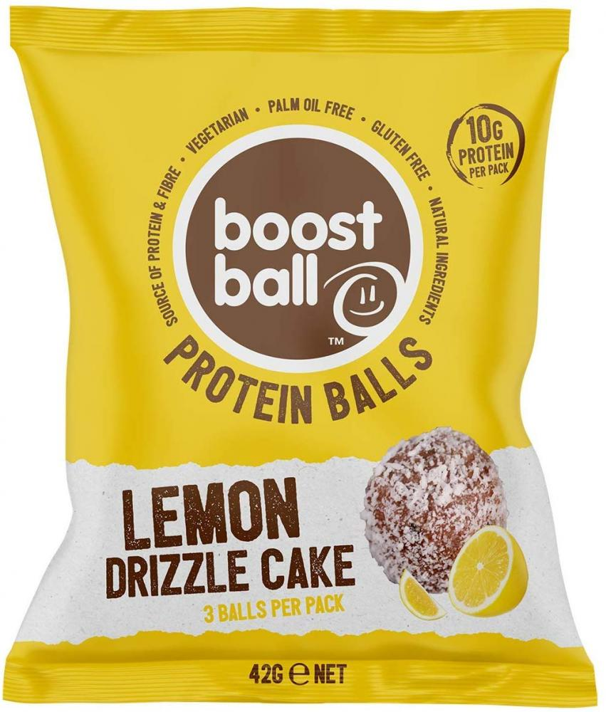 Boostball Lemon Drizzle Cake Protein Ball 42g