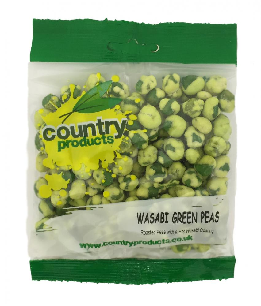 Country Products Wasabi Green Peas 75g