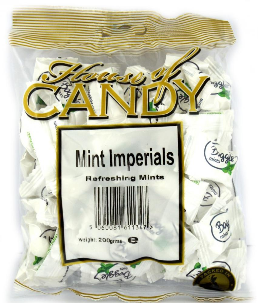 House Of Candy Mint Imperials 200g