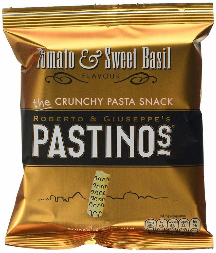 Pastinos Tomato And Sweet Basil Crisps 35 g