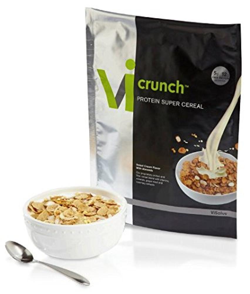 Vi Visual Vi Crunch Cereal Sweet Cream Flavour with Almonds 540g